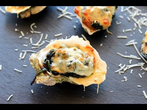 {Seafood Recipe} Oyster Rockefeller by Cookingforbimbos.com