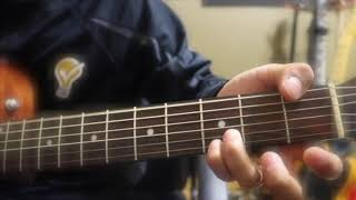 Guitar Tutorial (lay Phyu, Myo Gyi, Ah Nge) D Sin Bar