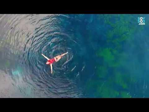 El Cráter Azul, un sitio mágico en Petén