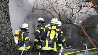 Einfamilienhaus In Mainzer Oberstadt Brennt Aus – Bewohnerin Nach Reanimation In Klinik Verbracht