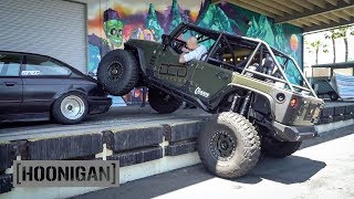 [HOONIGAN] DT 061: Jeep on Steroids Crushes $350 BMW E36