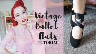 Vintage Ballet Flat Tutorial | Craft Pinup Project