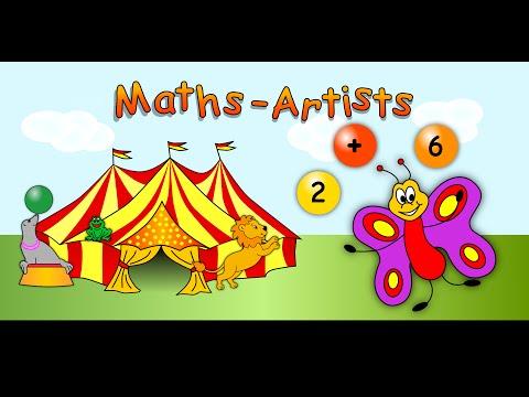 Video of Maths Artists first grade