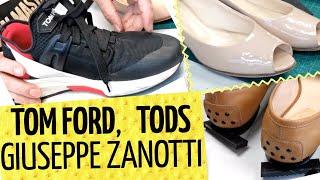 👞 Будни обувщика 👠 Кроссовки TOM FORD расклеились   TODS и GIUSEPPE ZANOTTI
