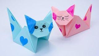 אוריגמי חתול