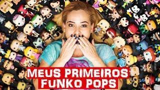 MEUS PRIMEIROS FUNKO POPS