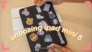 [ENG] ASMR Unboxing My New Ipad Mini 5 64gb Gold💜🧡