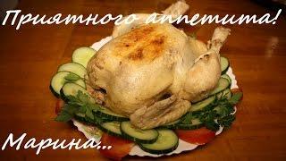 Смотреть онлайн Рецепт как приготовить тушеную курицу в мультиварке