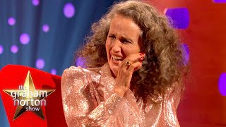 Andie MacDowell's Completely Innocent Bareback Story   The Graham Norton Show