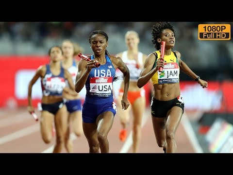 Women's 4 x 400m Relay at Athletics World Cup 2018