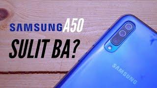 Samsung Galaxy A50   Full Review   TAGALOG
