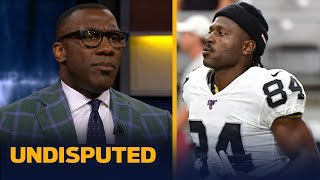 Antonio Brown's antics are 'only going to get worse' with Raiders— Shannon Sharpe | NFL | UNDISPUTED