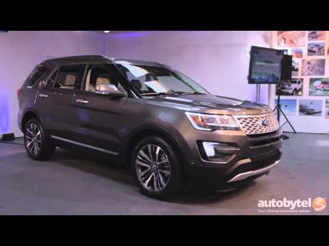 LA Auto Show: 2016 Ford Explorer First Look