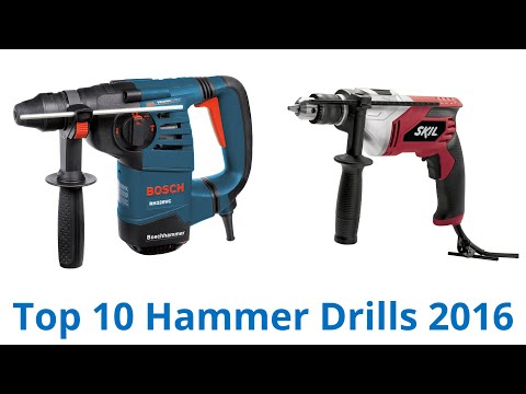 10 Best Hammer Drills 2016