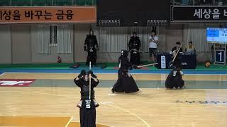 2019 단별검도대회 남자 4단부 64강 - 신광수 vs 김대성
