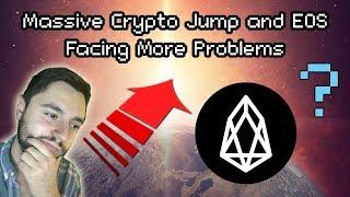 HUGE Crypto Price Action, Bitcoin Bounces Off $100 Billion Market Cap and EOS Facing More Criticism