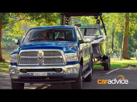 YouTube Video of the CarAdvice reviews the RAM 2500 Laramie