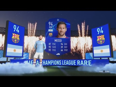 UCL MESSI & RONALDO IN THE SAME PACK!! 😱👏- LUCKIEST FIFA 20 PACK OPENING REACTIONS COMPILATION #8