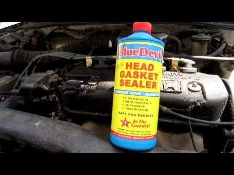 BlueDevil Head Gasket Sealant Works | Affordable Tire Sealant