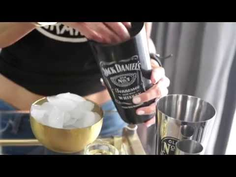 Video Delicious Jack Daniel's Whiskey Cocktail How-To