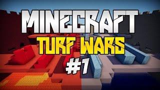 Minecraft Minigames Turf Wars #1