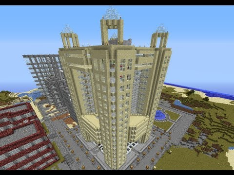 Fairmont hotel dubai minecraft project for The big hotel in dubai