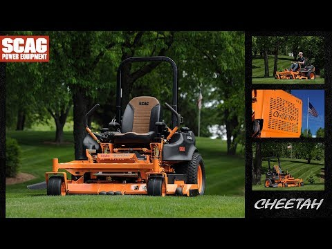 2019 SCAG Power Equipment Cheetah Rear Discharge 61 in. 31 hp Kawasaki Zero Turn Mower in South Hutchinson, Kansas - Video 1
