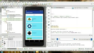Android Studio Tutorials - 44 : Custom ListView in Android - Дом 2