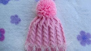 How to knit a hat with Double Pointed Needles