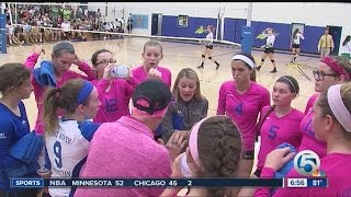 Lake Worth Christian volleyball advances to state finals