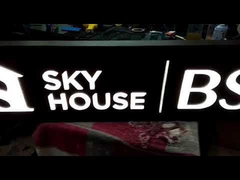 Proses test neonsend sky house BSD