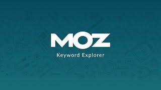 Moz Pro video