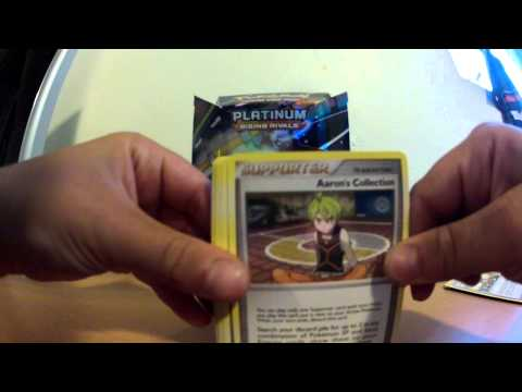 Opening Pokemon Rising Rivals Pack