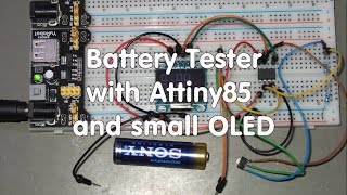 Arduino based battery capacity tester - hmong video