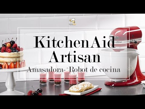 KitchenAid Artisan 5KSM150PS, kit accesorios | PepeBar.com
