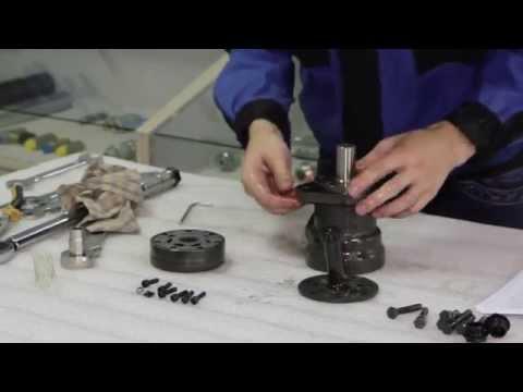 Разборка и промывка гидромотора серия MR100