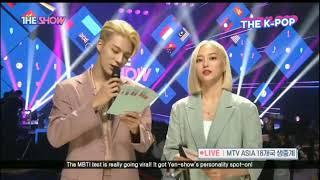 [MC] BLONDE JENO NCT 127 & YEEUN CLC @THESHOW