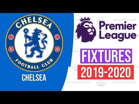 Chelsea Fixtures 2019-2020 ⚽ Mr.Roeun Sports ⚽