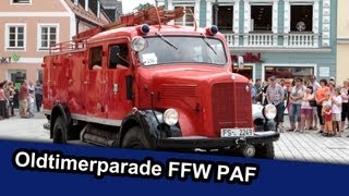 preview picture of video 'Oldtimerparade 150 Jahre FFW Pfaffenhofen - LocalEventclips'