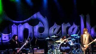 Cinderella - Bad Seamstress Blues  Fallen Apart at The Seams Philadelphia,PA  4/9/2010