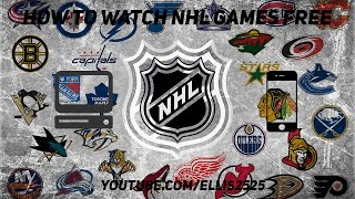 How to Stream NHL Hockey Games for FREE (Computer, Phone) WORKS 2019
