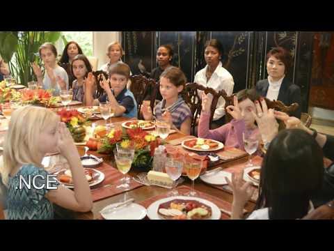 Children's Etiquette Certification Training - YouTube