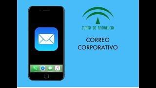 Instalación del correo corporativo Junta de Andalucía en el móvil