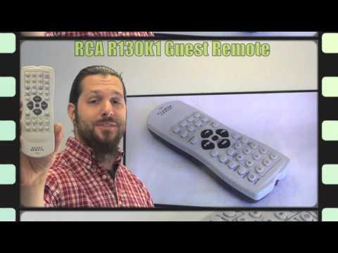 RCA R130K1 GUEST TV Remote Control