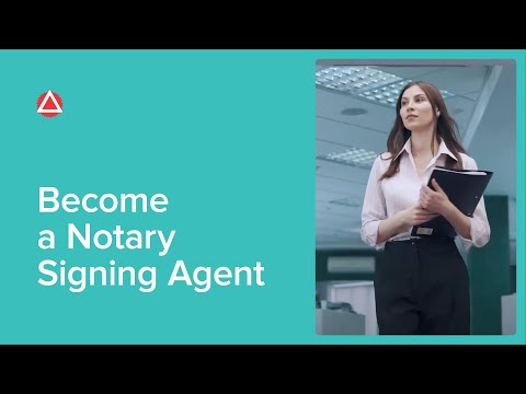 Become a Notary Signing Agent - YouTube