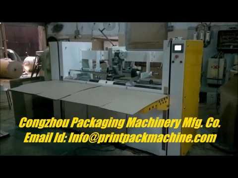 Semi-Auto Stitching Machine Double Piece Box Stitching -(TW)