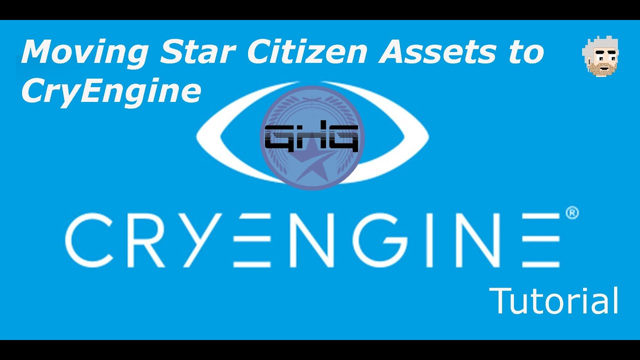 CryEngine Tutorial EP. 1 - Moving assets over
