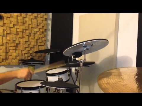 DIY electronic drums with Alesis trigger I/O and Superior drummer