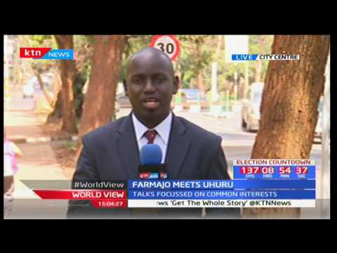 World View 23rd March 2017 - Somalia and Kenyan presidents meet