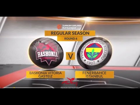 EuroLeague Highlights RS Round 6: Baskonia Vitoria Gasteiz 86-52 Fenerbahce Istanbul